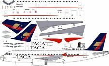 TACA Airbus A-320 decals for Revell 1/144 kit