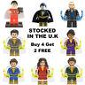 Shazam Minifigure Shazam! Black Adam Doctor Sivana Marvel Lego & Custom Figure