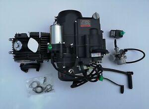 HMParts Pit Bike Monkey Motor SET Ducar 125 ccm 1P54FMI Kick & Anlasser oben