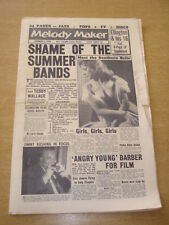 MELODY MAKER 1958 OCTOBER 4 SHEILA SOUTHERN DUKE ELLINGTON JIMMY RUSHING +