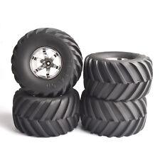 4X RC 135mm Tires&Wheel Rims 12mm Hex For HSp HPI 1:10 Bigfoot Monster Truck Car