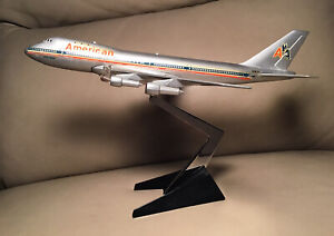 Diecast American Airlines Boeing Astroliner Desk Model Aero Mini Vintage N7475