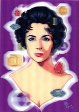 3D Lenticular Postcards - ELIZABETH TAYLOR (Actress), Juan Carlos Espejo
