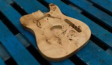 Eden Burl Series Maple Body Hardtail for Telecaster Guitar Natural Finish
