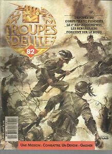 TROUPE D ELITE N° 82 CORP FRANC POMMIES / 2e REP / BERSAGLIERI SUR LE BOUG