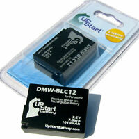 2x Battery for Panasonic DMW BLC12, Lumix DMC G5, DMW BLC12PP, DMC GH2KK, GH2S