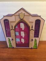 Monster High School Fold Out Playset. Used Free s/h ( please read description)