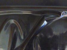 Latex caoutchouc .40mm épais, 100cm large, translucide smoky black
