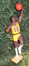 Wilt Chamberlain LOS ANGELES LAKERS Christmas tree ornament basketball figure