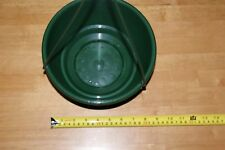 Plastic Plant Hanging Basket Green 200mm pack 20. Perfect for Orchid. Inc saucer