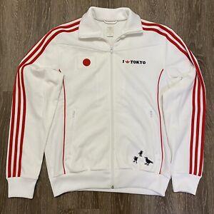 Vintage 2006 Tokyo Japan Adidas Jacket Sweater Crows Medium Small Olympics World