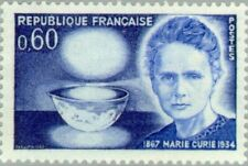 EBS France 1967 100th birthday of Marie Curie-Sklodowska YT1533 MNH**