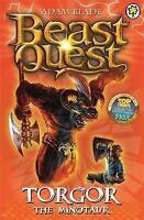 Torgor the Minotaur: Series 3 Book 1 (Beast Quest), Blade, Adam , Acceptable | F