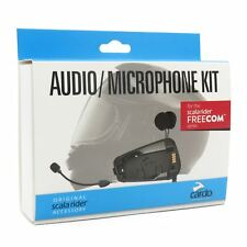 Cardo Scala Rider Audio & Mic Kit for Freecom 1 2 3 4 Helmet Intercom Microphone