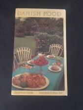 "Retro 1964 cookbook ""Danish Food"" by Greta Grumme"