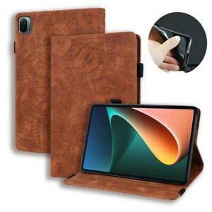 """Flip Leather Stand Case Cover Pen Cards Slot For Xiaomi Mi Pad 5 Pro 11"""" Tablet"""