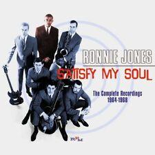 Ronnie Jones - Satisfy My Soul: Complete Recordings 1964-1968 (2015)  CD  NEW