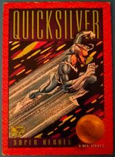 1993 Skybox X-Men Series 2 Trading Cards: #25  - Quicksilver Super Heroes