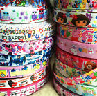 5y/10y Printed Grosgrain Ribbon 7/8