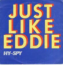 7inch JUST LIKE EDDIE hy-spy HOLLAND NEW WAVE 1981 EX  (S2244)