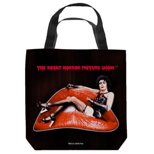 """Rocky Horror Picture Show """"Sweet Transvestite"""" 16 in x 16 in Tote Bag - New"""
