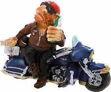 Motociclista Con Birra Cm.16 h.11