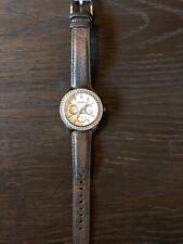 Fossil Wrist Watch Men's - Crystal/Diamond Bezel CE ES2996 Stainless Steel