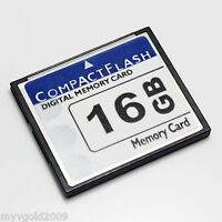 New 16GB CompactFlash CF Card Type I Unbranded,CF Memory Card 16GB OEM