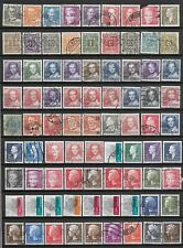 Denmark small lot of used stamps Danmark