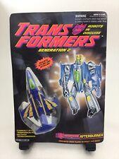 Transformers G2 PROTOTYPE MOC Afterburner Unpunched Generation 2