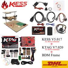 KESS V5.017 EU Red ECM Titanium KTAG V7.020 4 LED Online Master With BDM Frame