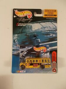 Hot Wheels Racing School Bus Series #22 Caterpillar