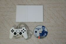 Sony PS2 Slim White Console + controller + game + power brick SCPH-75000 NTSC-J