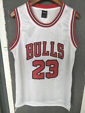 NBA Jersey Michael Jordan 23 Chicago Bulls Retro White Basketball Swingman shirt
