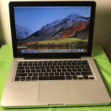 "Apple MacBook Pro 13"" 2.3GHz i5, 500GB HD, 4GB, OS High Sierra A1278 Early 2011"