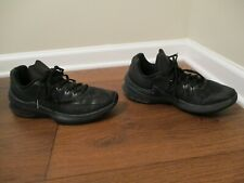 Used Worn Size 10 Nike Air Max Infuriate Low Shoes Black & Anthracite
