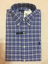NEW WITH TAGS POLO RALPH LAUREN MEN'S OXFORD L /S SLIM FIT CASUAL SHIRTS