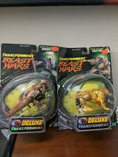Transformers Beast Wars Cheetor and dinobot Complete OPEN  item