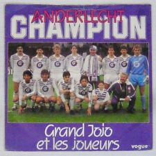 Football 45 tours Anderlecht Champion Grand Jojo 1985