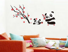 Panda Animals Home Decor Removable Wall Stickers Decal Decoration Vinyl Mural