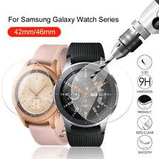 Claro Protector de Pantalla de Vidrio Templado para Samsung Galaxy Watch 42 46 Gear S3 S4