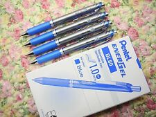 (Tracking No.)12pcs Pentel Ener Gel BL80 1.0mm roller ball pen smooth BLUE(Japan