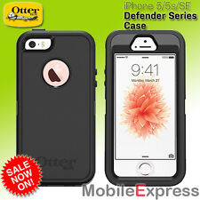 GENUINE Otterbox Defender Tough Case Cover + Belt Clip for iPhone 5, 5S and SE