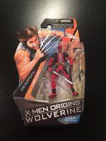 "Marvel Universe DEADPOOL X-Men Origins Wolverine Comic Series Figure 3 3/4"" 3.75"