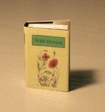 WILD FLOWERS MINIATURE BOOK - BRAND NEW - TWELFTH SCALE