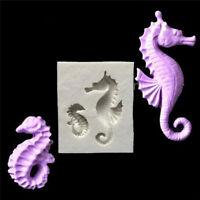 Sea Horse Silicone Fondant Cake Mold DIY Chocolate Soap Sugarcraft Mould Decor