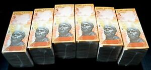 2014 Venezuela $5 Bolivares UNC 6 Bricks 6000 Pcs New Uncirculated SKU507