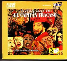 El Capitán Fracaso by Teofilo Gautier  CD-Audio Spanish NEW