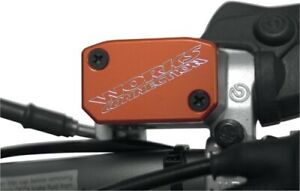 Works Connection Front Master Cylinder Cover Red Yamaha YZ125 YZ250 YZ85 21-035