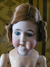Antique Bisque Doll Wig Red Hair with Curls Size 10 New Old Stock in Box